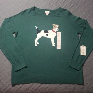 WOMEN'S Dog Sweater.
